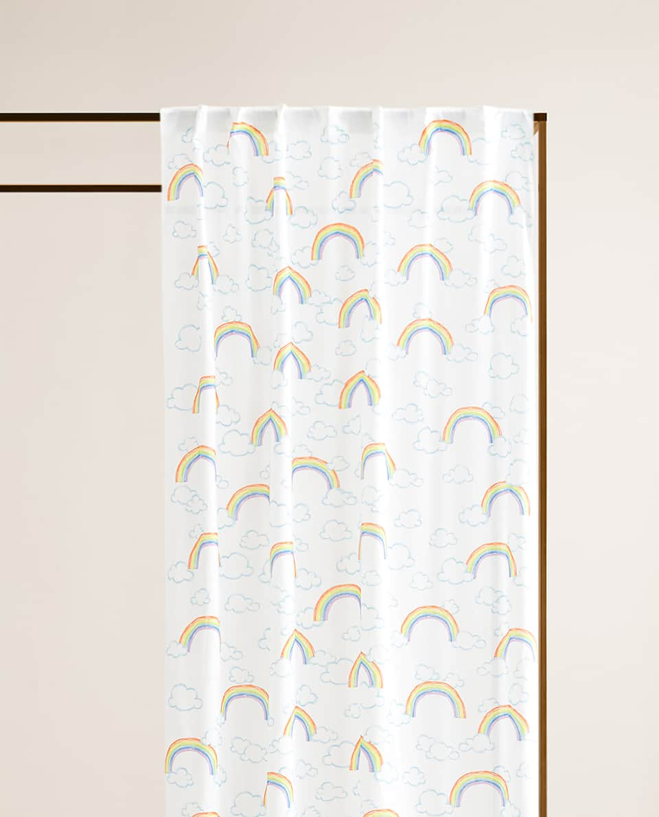 RAINBOW COTTON CURTAIN