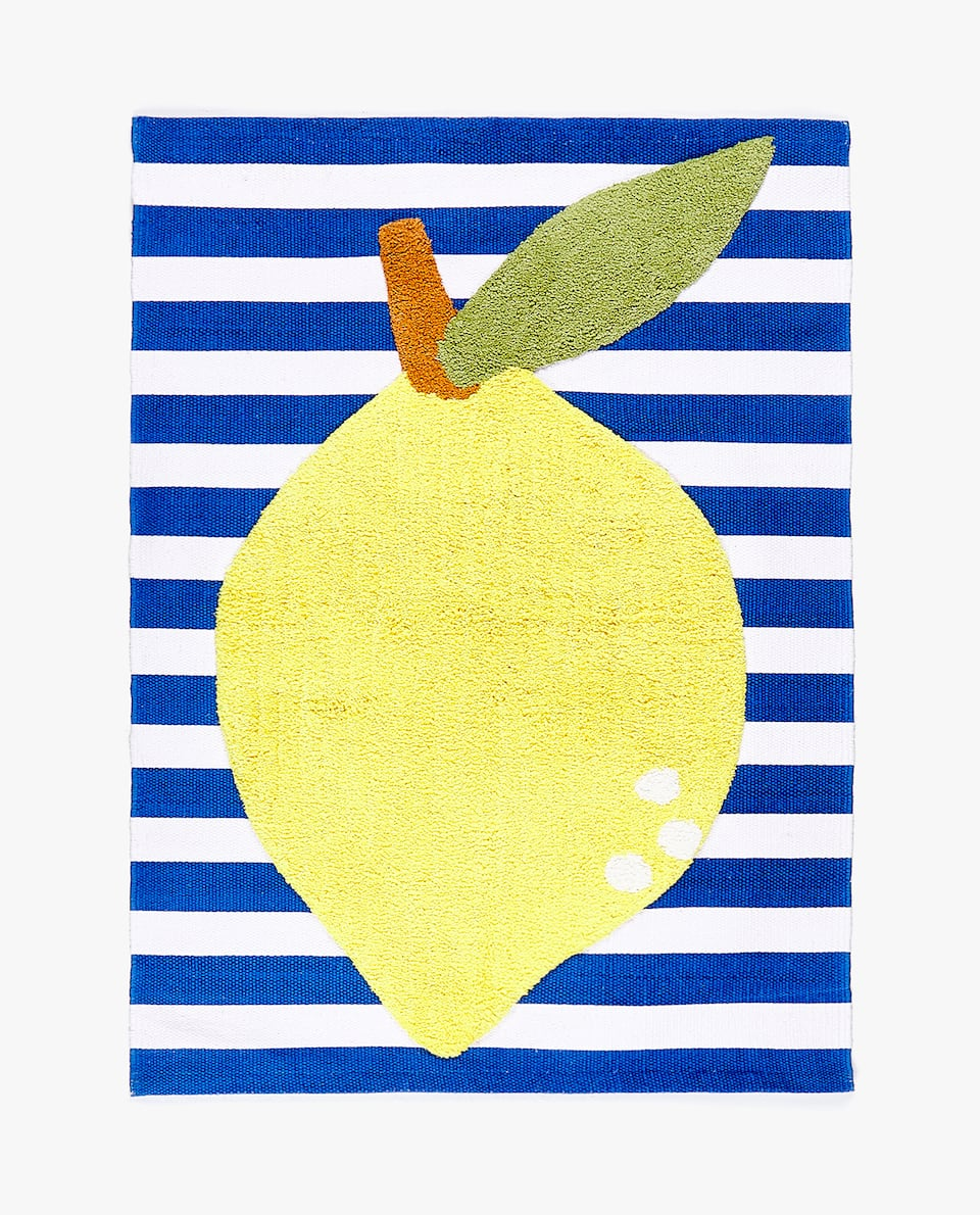 LEMON COTTON RUG