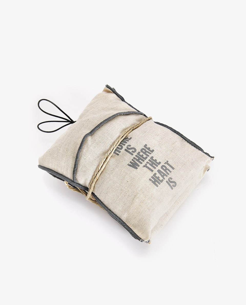 LINEN SCENTED SACHET (PACK OF 2)