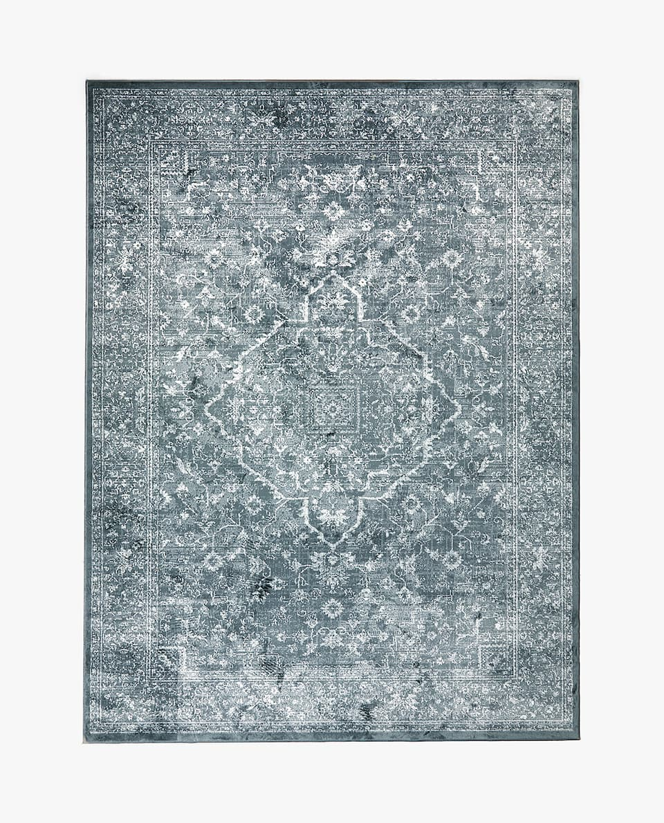 Distressed Effect Rug by Zara Home