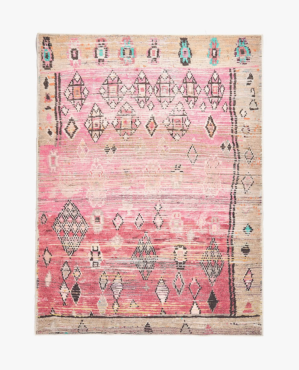 CHENILLE-EFFECT RUG