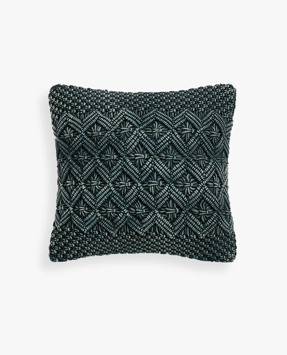 MACRAMÉ CUSHION COVER