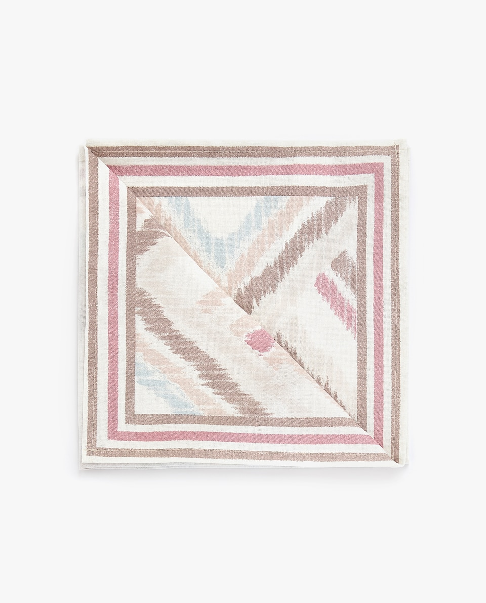 IKAT-EFFECT NAPKIN (PACK OF 4)