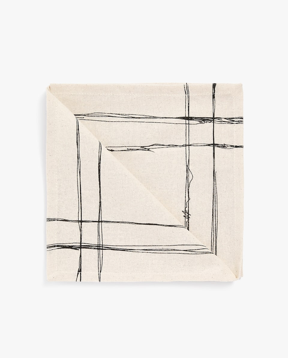 SKETCH NAPKIN (PACK OF 4)