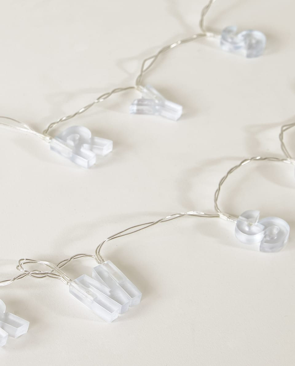 LETTER LIGHT GARLAND