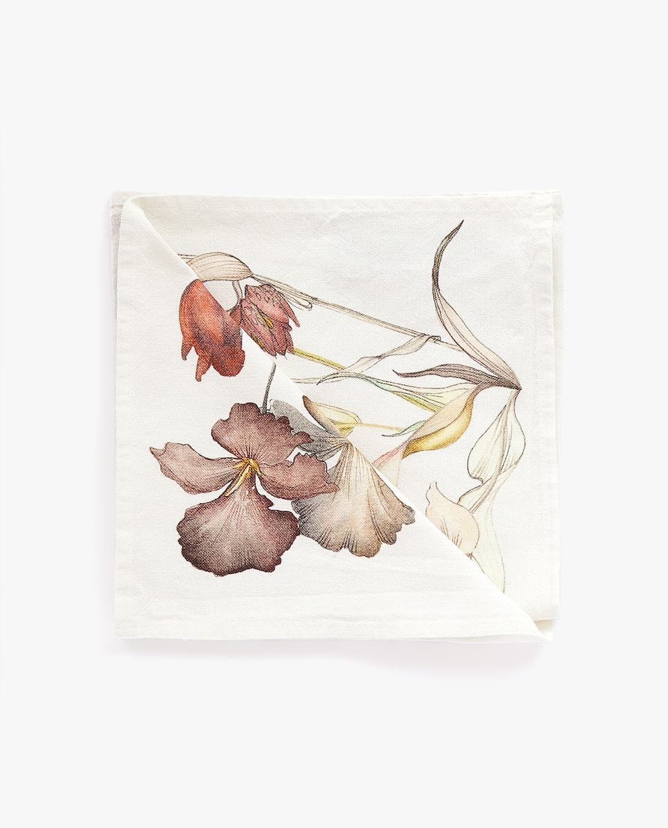 FLORAL COTTON NAPKIN (PACK OF 4)