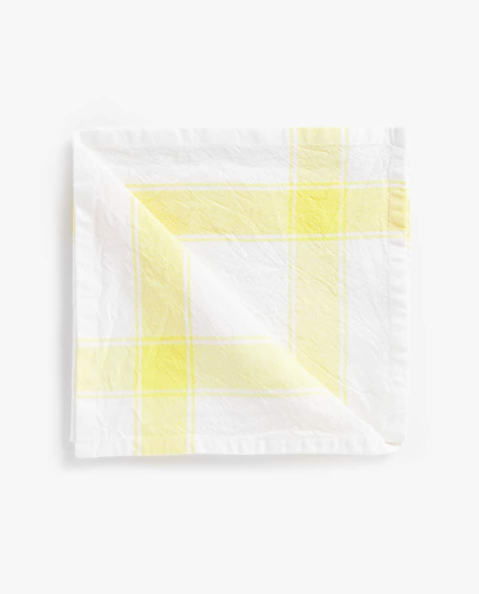 WASHED COTTON NAPKIN (SET OF 2)