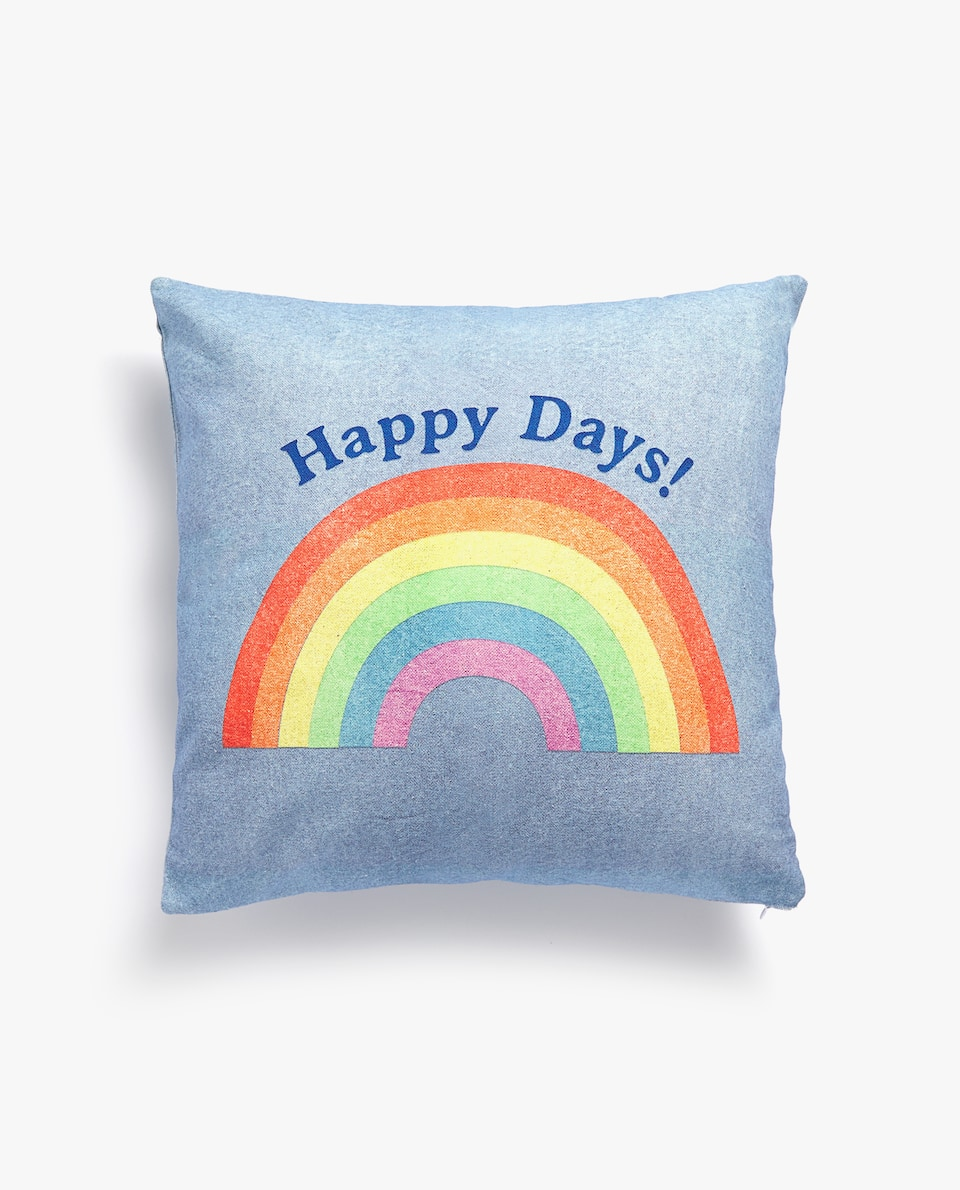 HAPPY DAYS CUSHION COVER