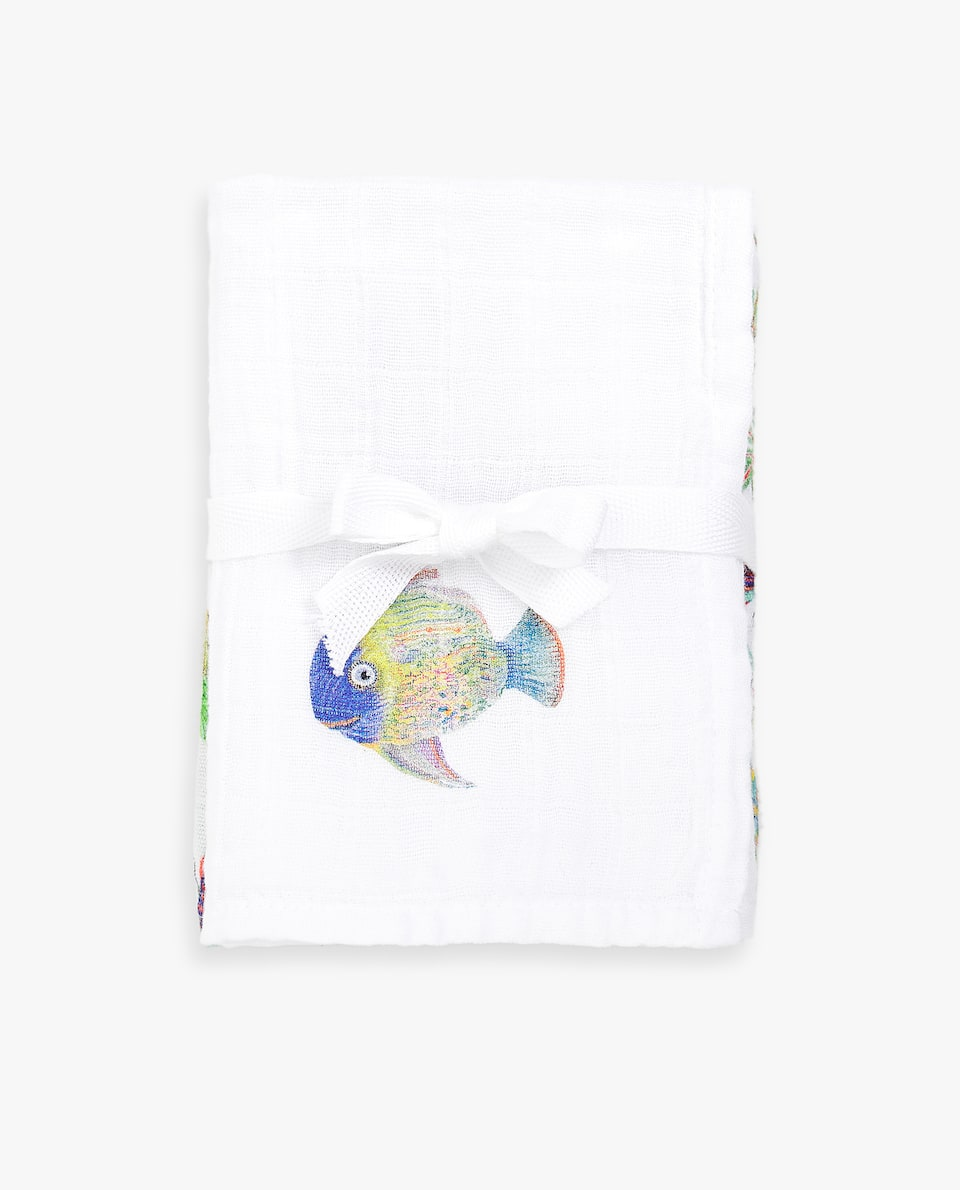 TROPICAL INSPIRATION MUSLIN (SET OF 2)