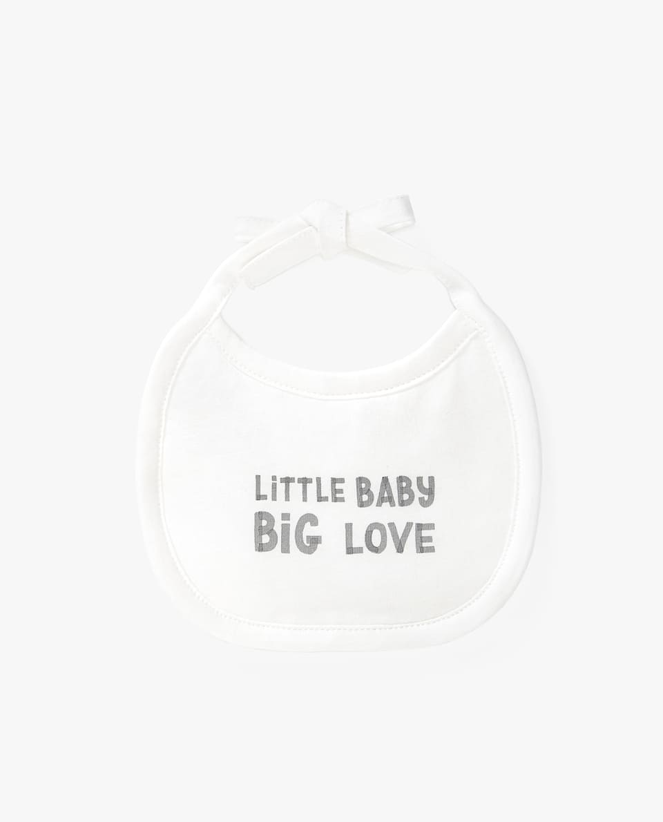 BIG LOVE PRINT BIB