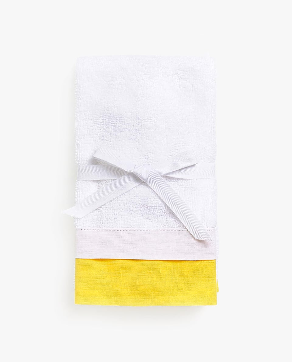 TOWEL WITH BORDER (SET OF 2)