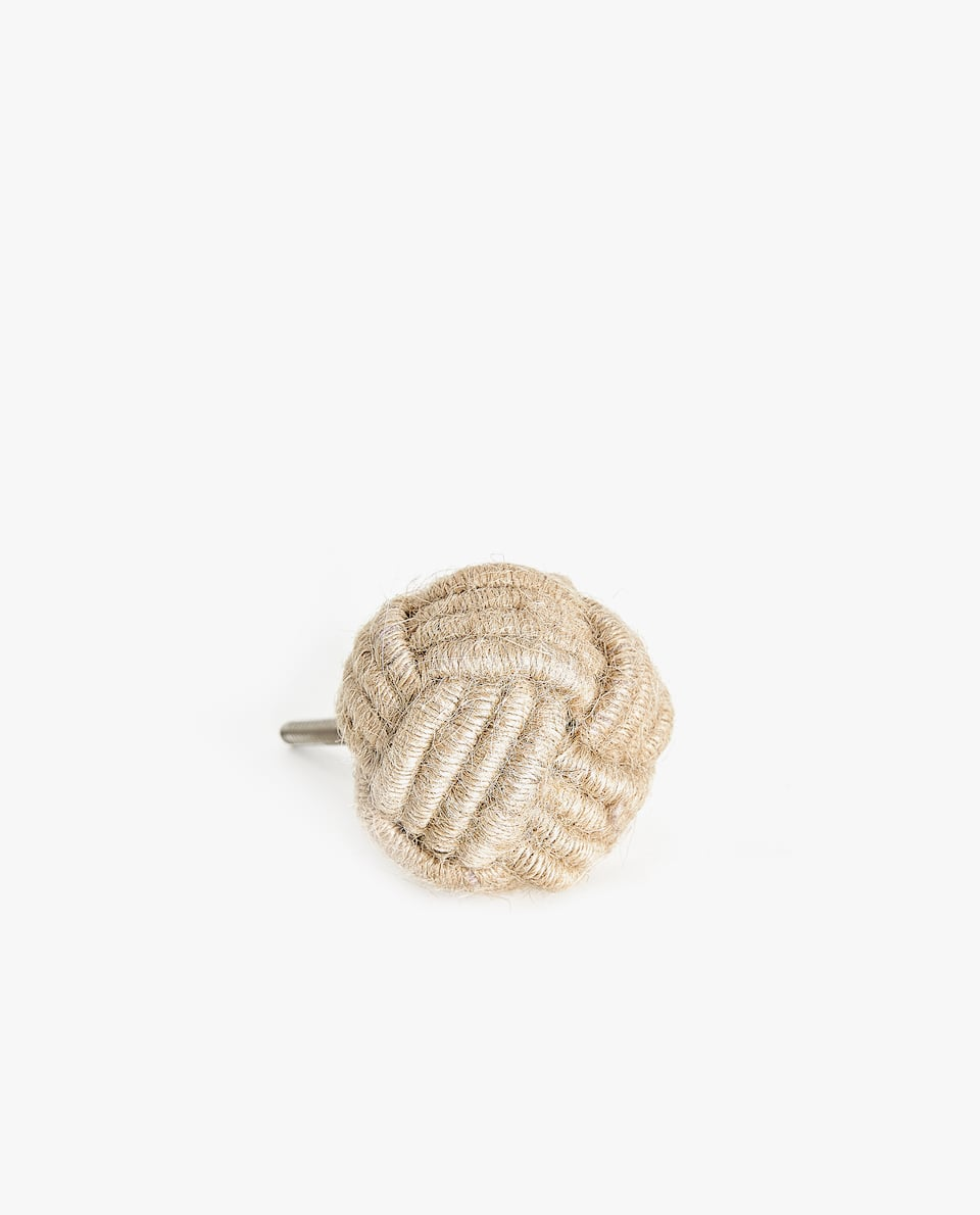 KNOTTED ROPE DOOR KNOB (PACK OF 2)