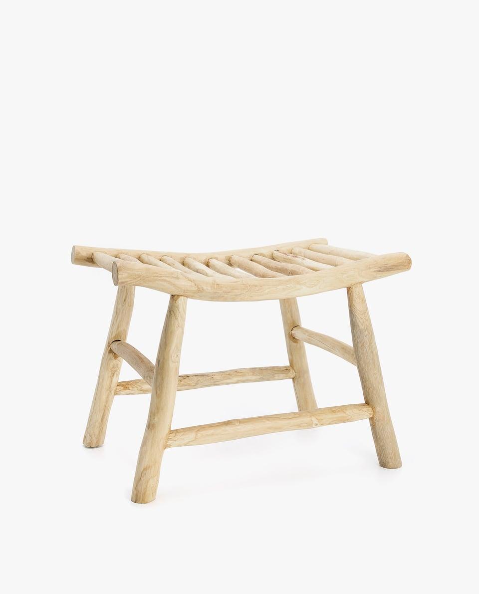 CRISS-CROSS SEAT STOOL