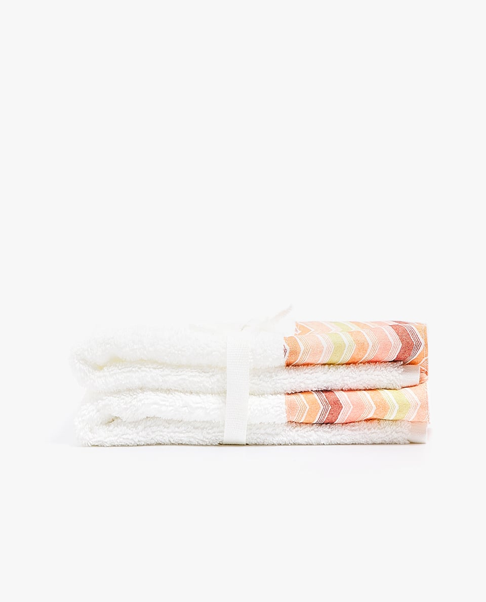 APPLIQUÉD TOWEL (SET OF 2)