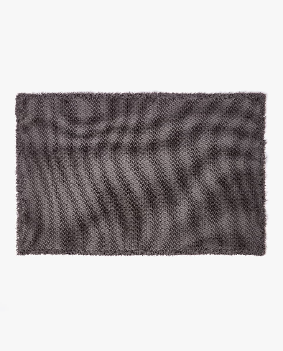 ALL-OVER JACQUARD BATH MAT