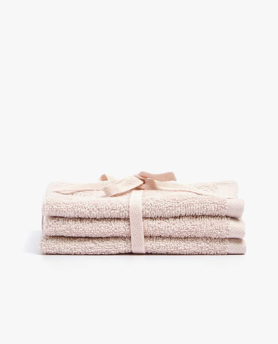 EMBROIDERED TOWEL (SET OF 3)