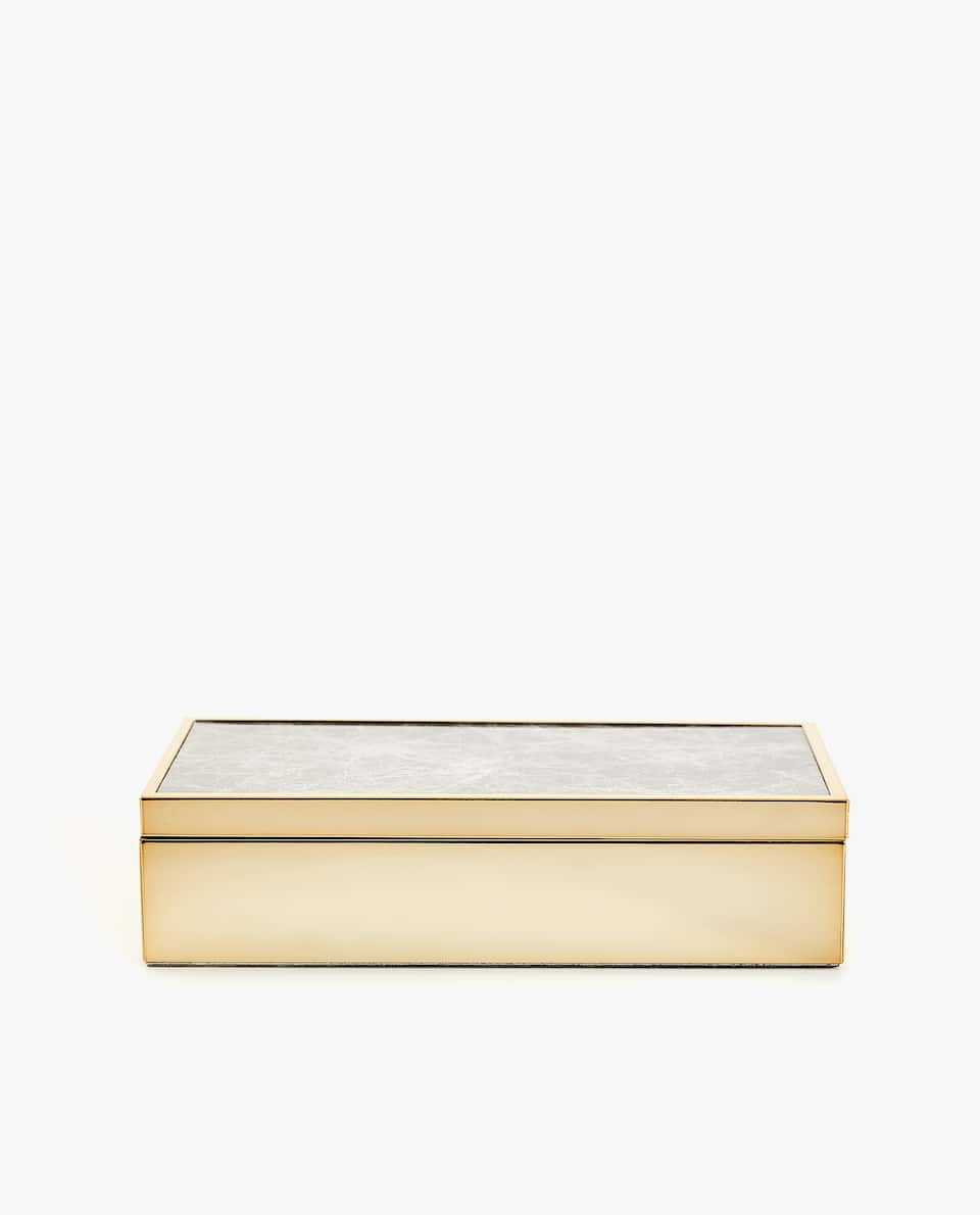 MARBLE-EFFECT BOX