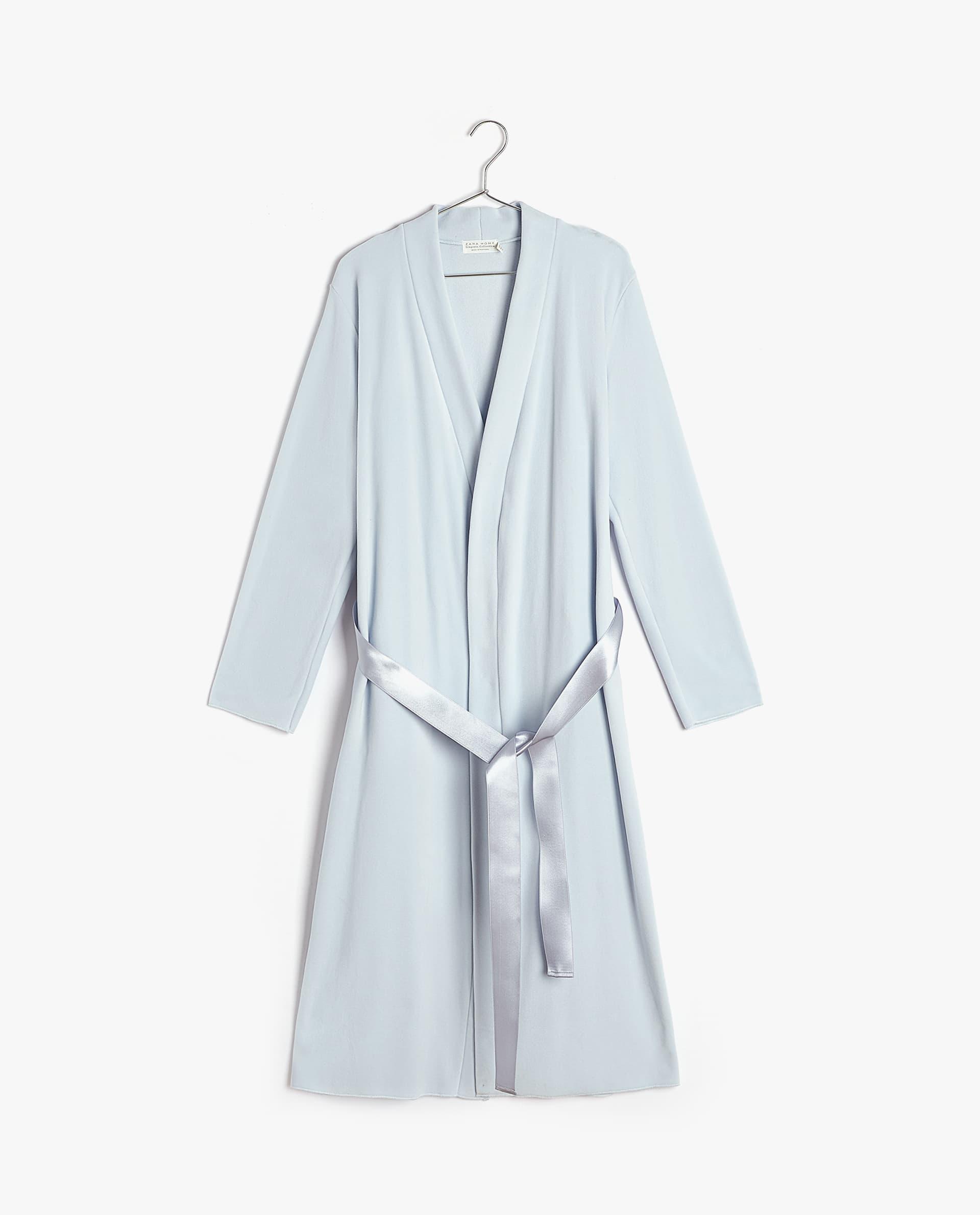 + PLAIN FLEECE DRESSING GOWN 06d1456ef