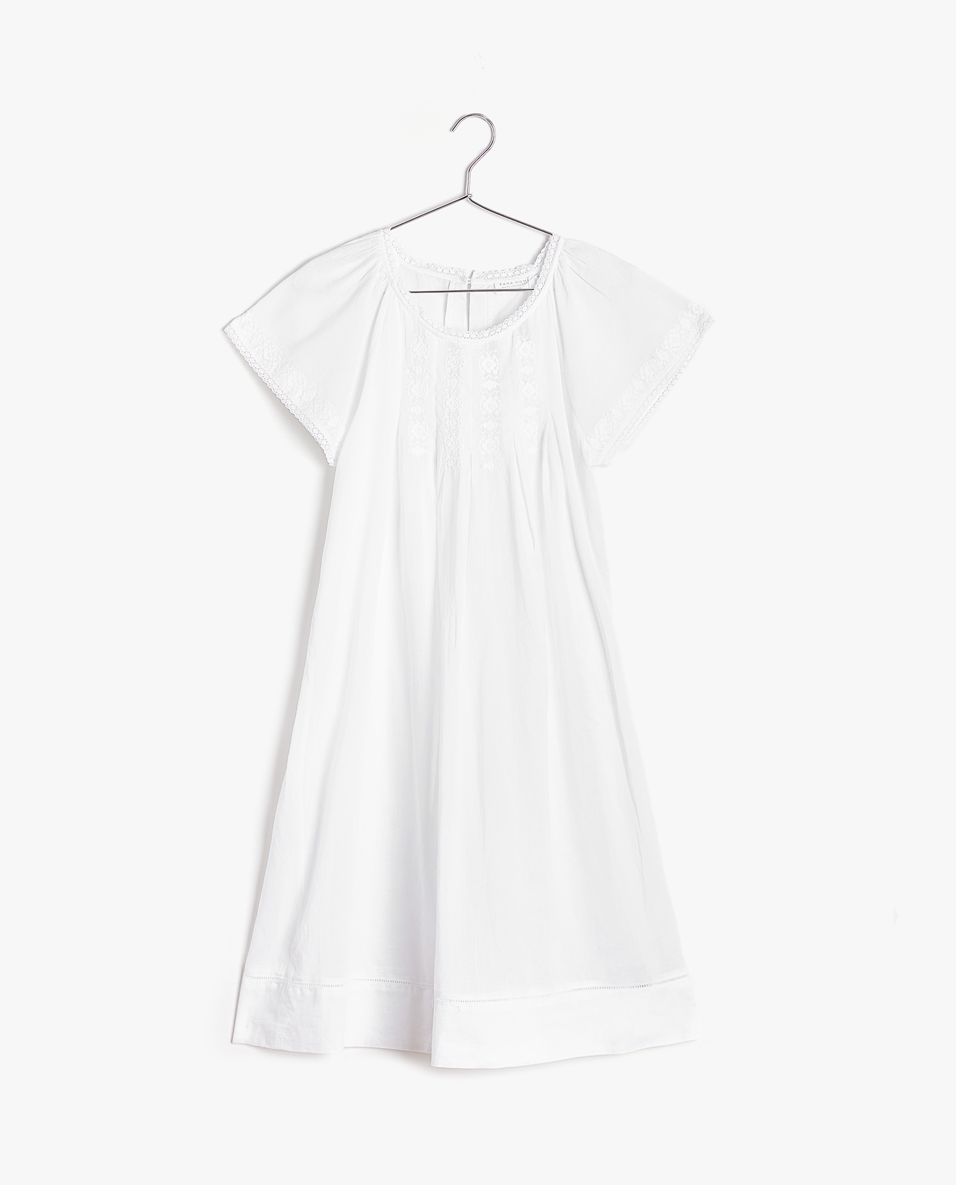 b0f5565088 EMBROIDERED COTTON NIGHTDRESS - WOMEN - CLOTHING - CLOTHING ...