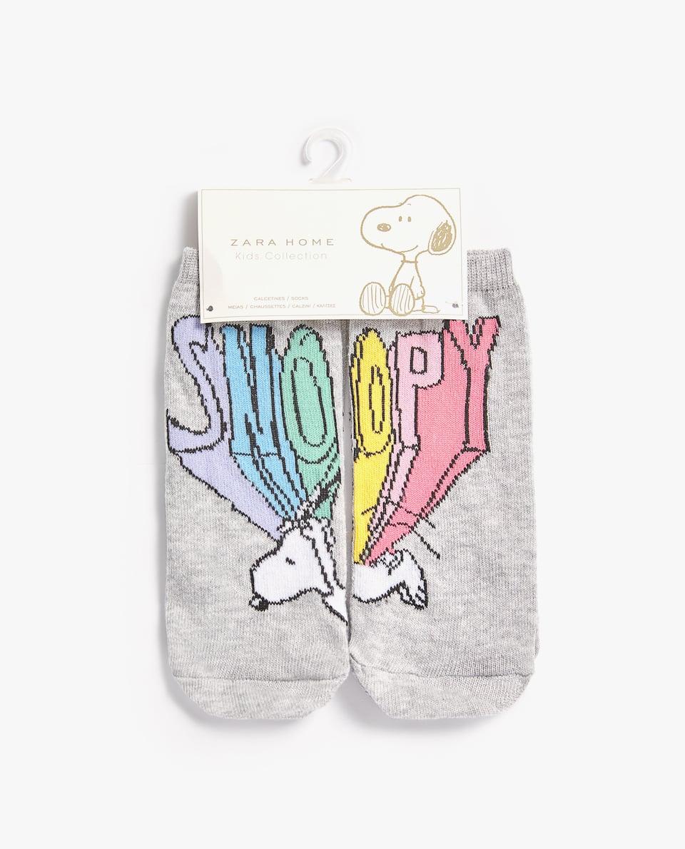 SNOOPY SOCKS (SET OF 2 PAIRS)