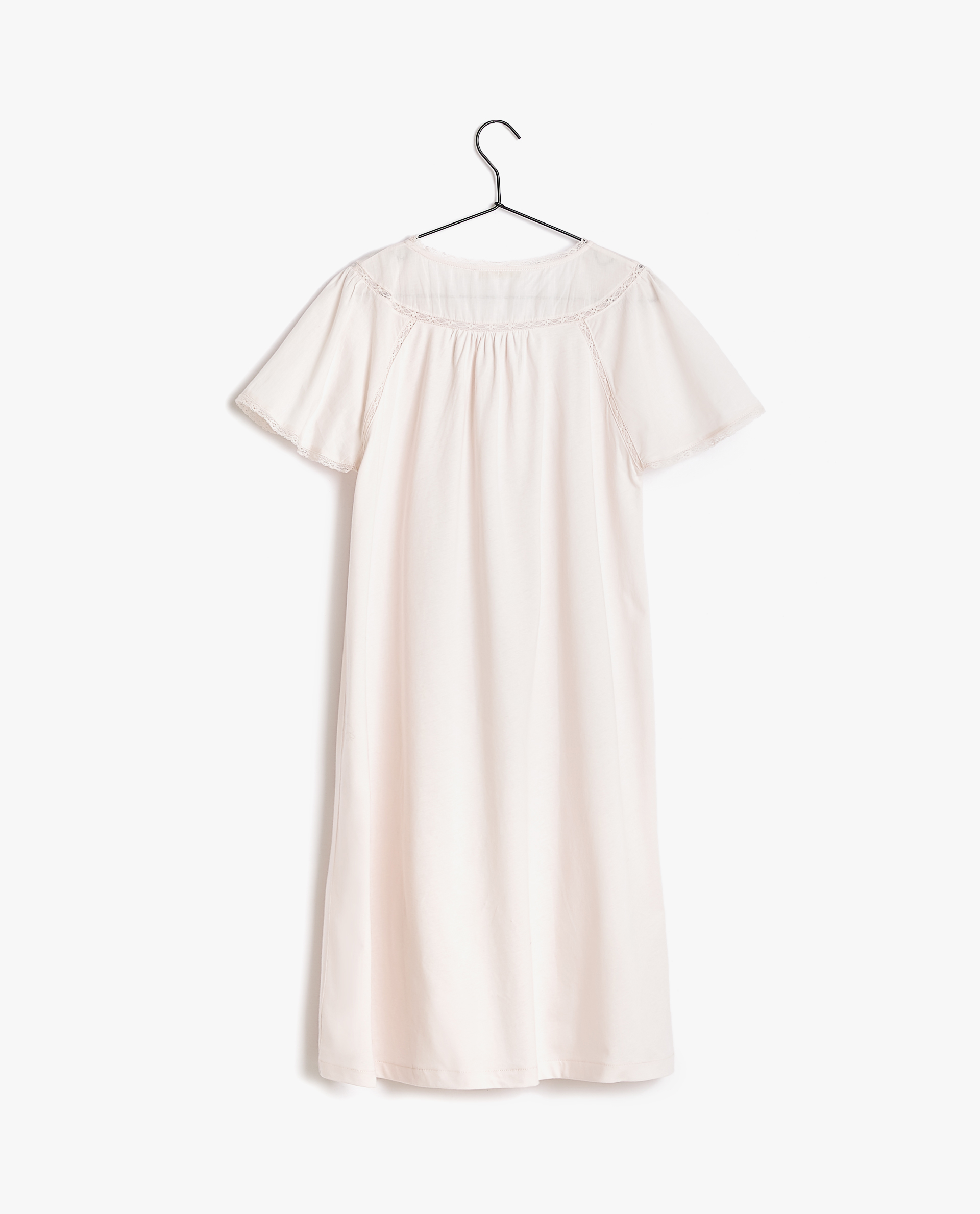 1ae8b86433 EMBROIDERED COTTON JERSEY NIGHTDRESS - WOMEN - CLOTHING - CLOTHING ...