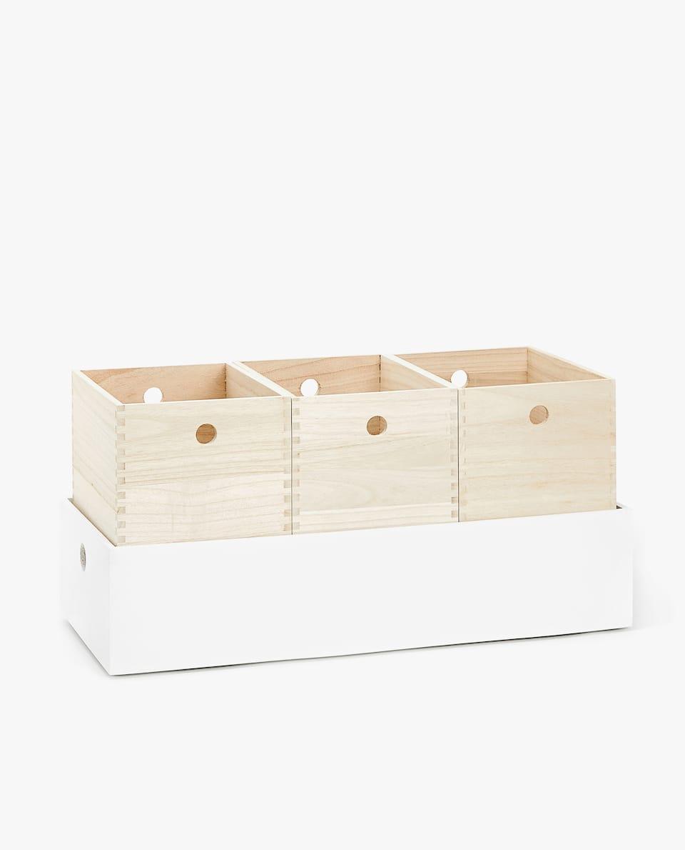 WOODEN BOXES SET