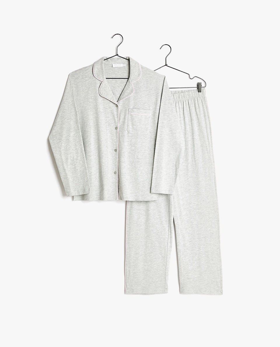 COTTON JERSEY PYJAMA SET