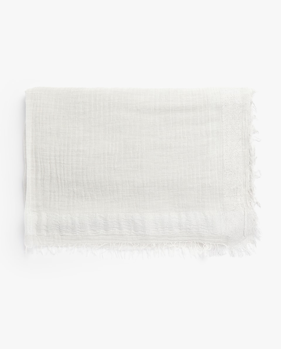 LIGHT COTTON FOULARD