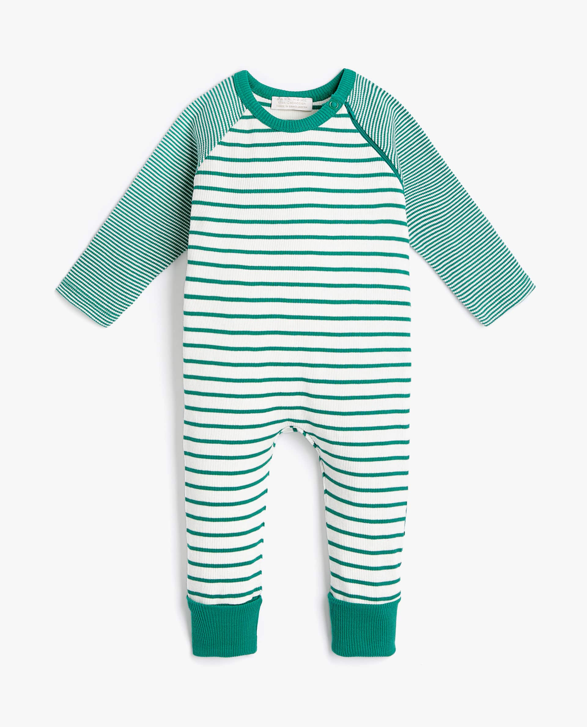 ab00c580806 STRIPED ROMPER SUIT - BABY 3 MONTHS - 12 MONTHS - CLOTHING ...