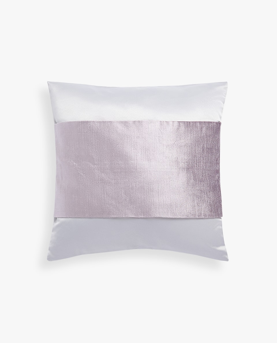 SATEEN PILLOW COVER WITH STRIPE