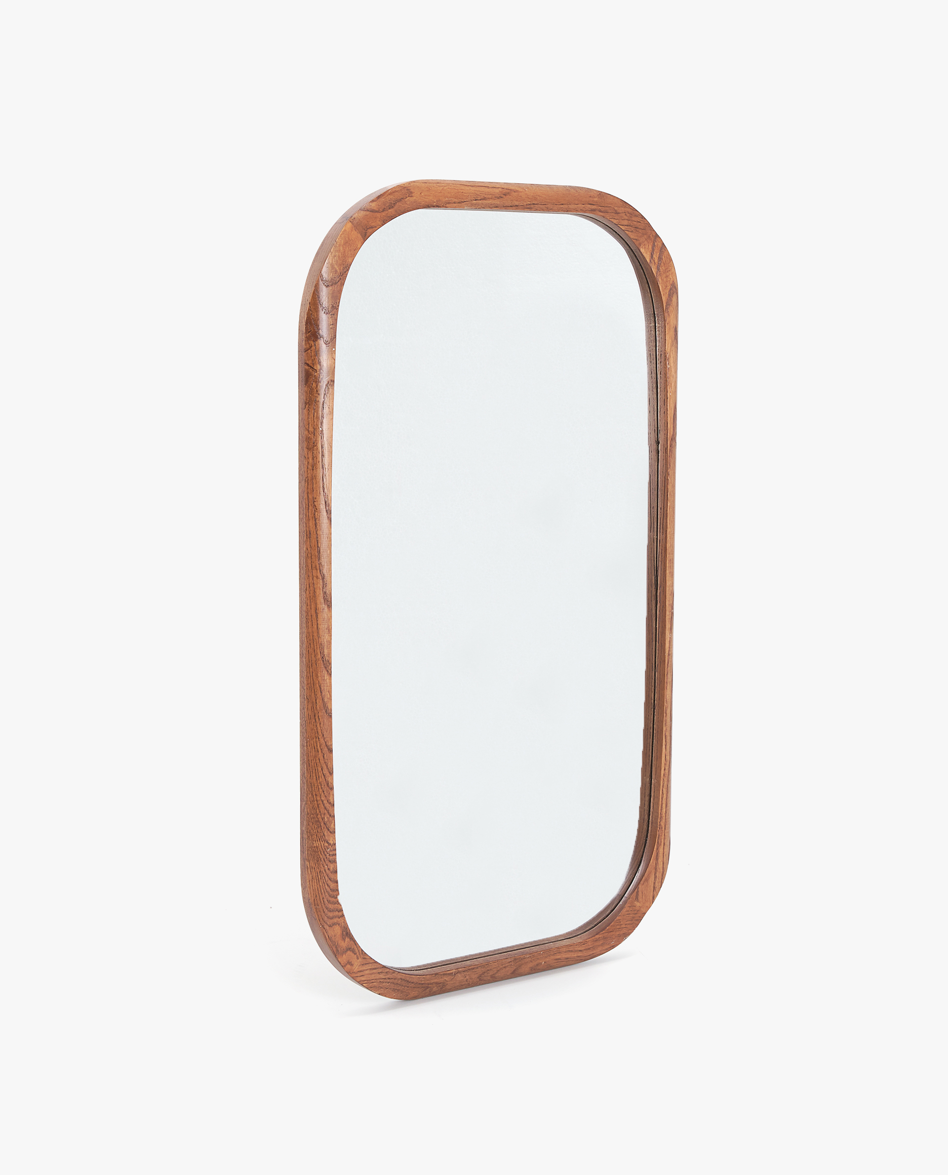 RECTANGULAR WOODEN MIRROR