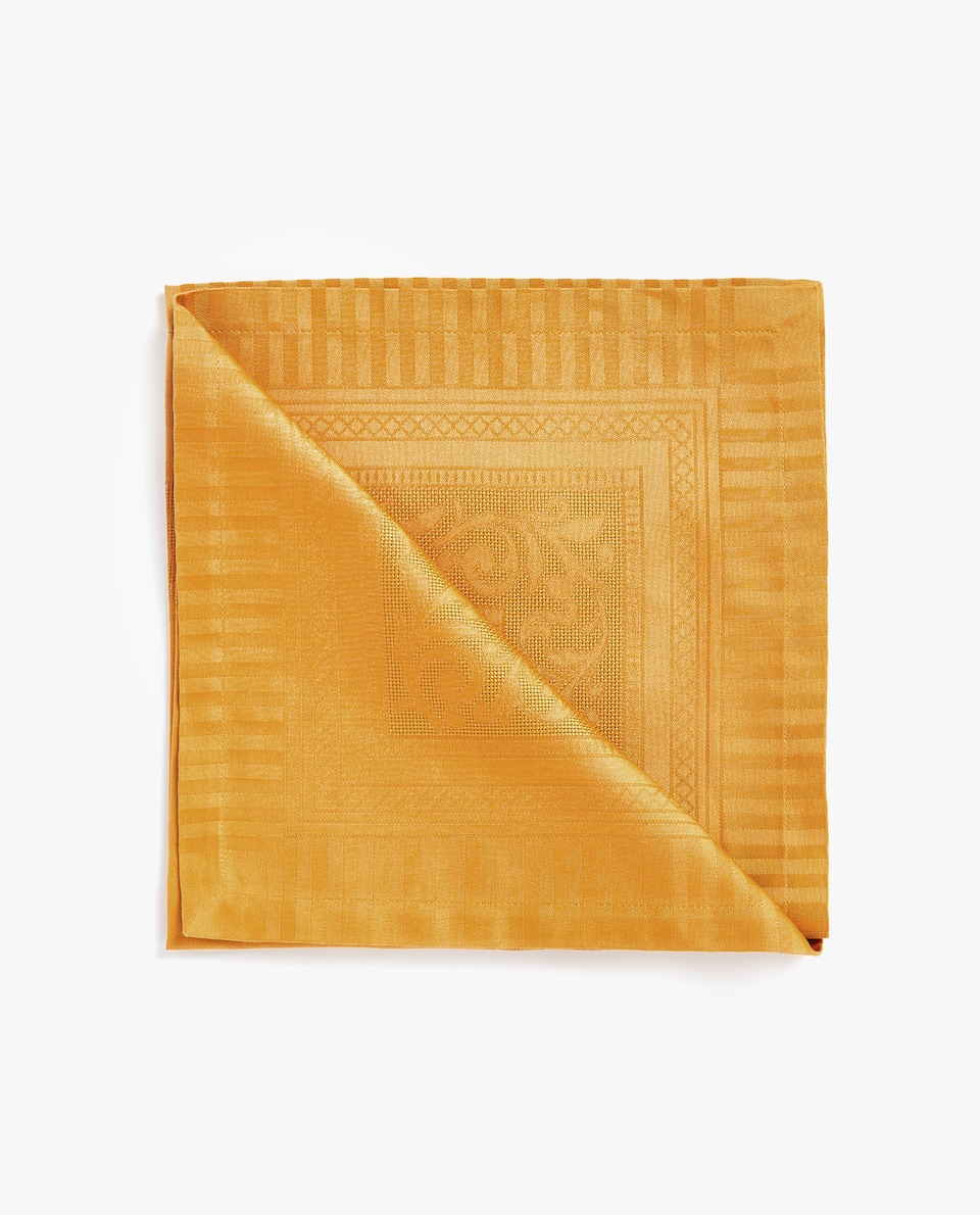 SATIN JACQUARD NAPKIN (PACK OF 4)