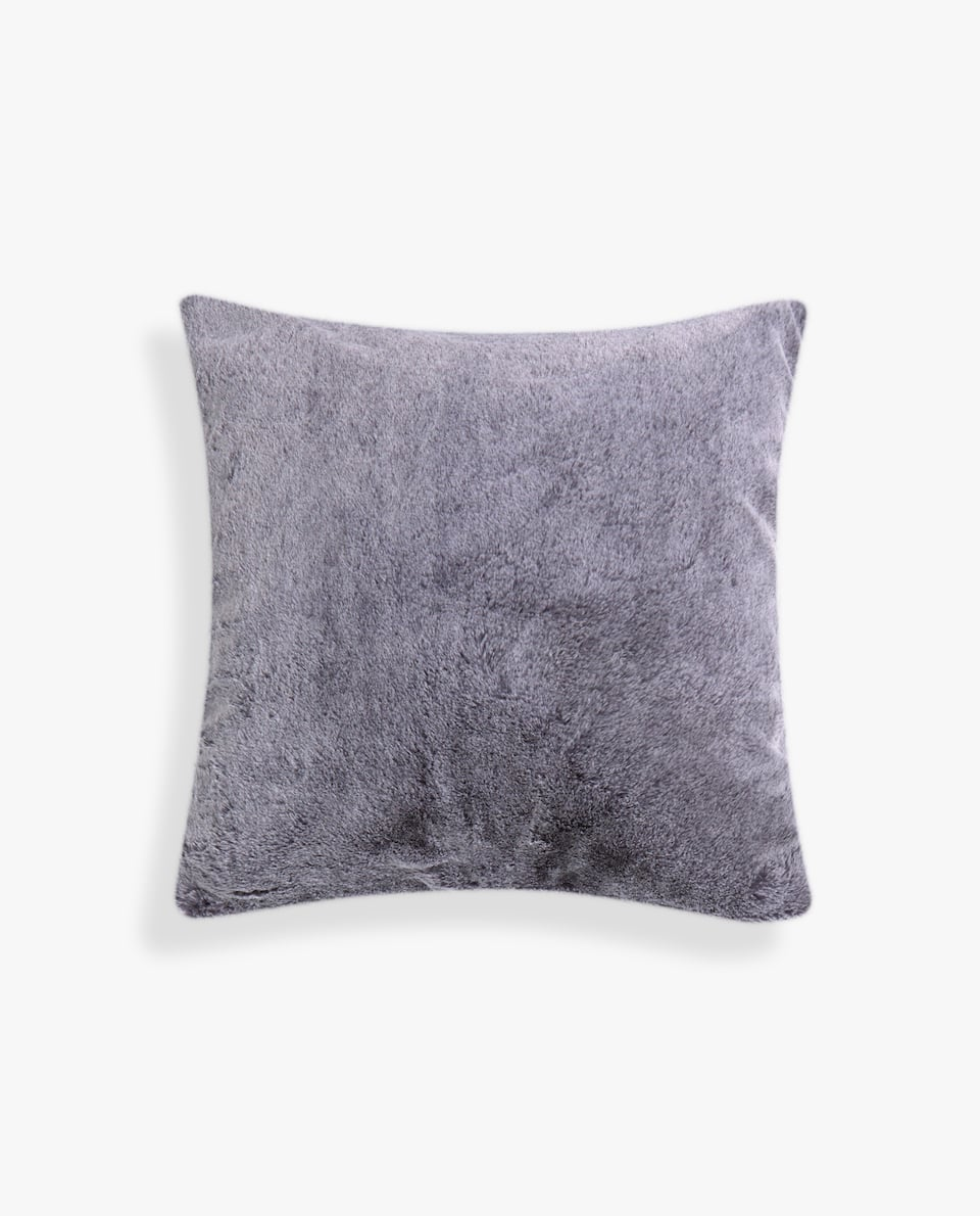 FUZZY PILLOW COVER