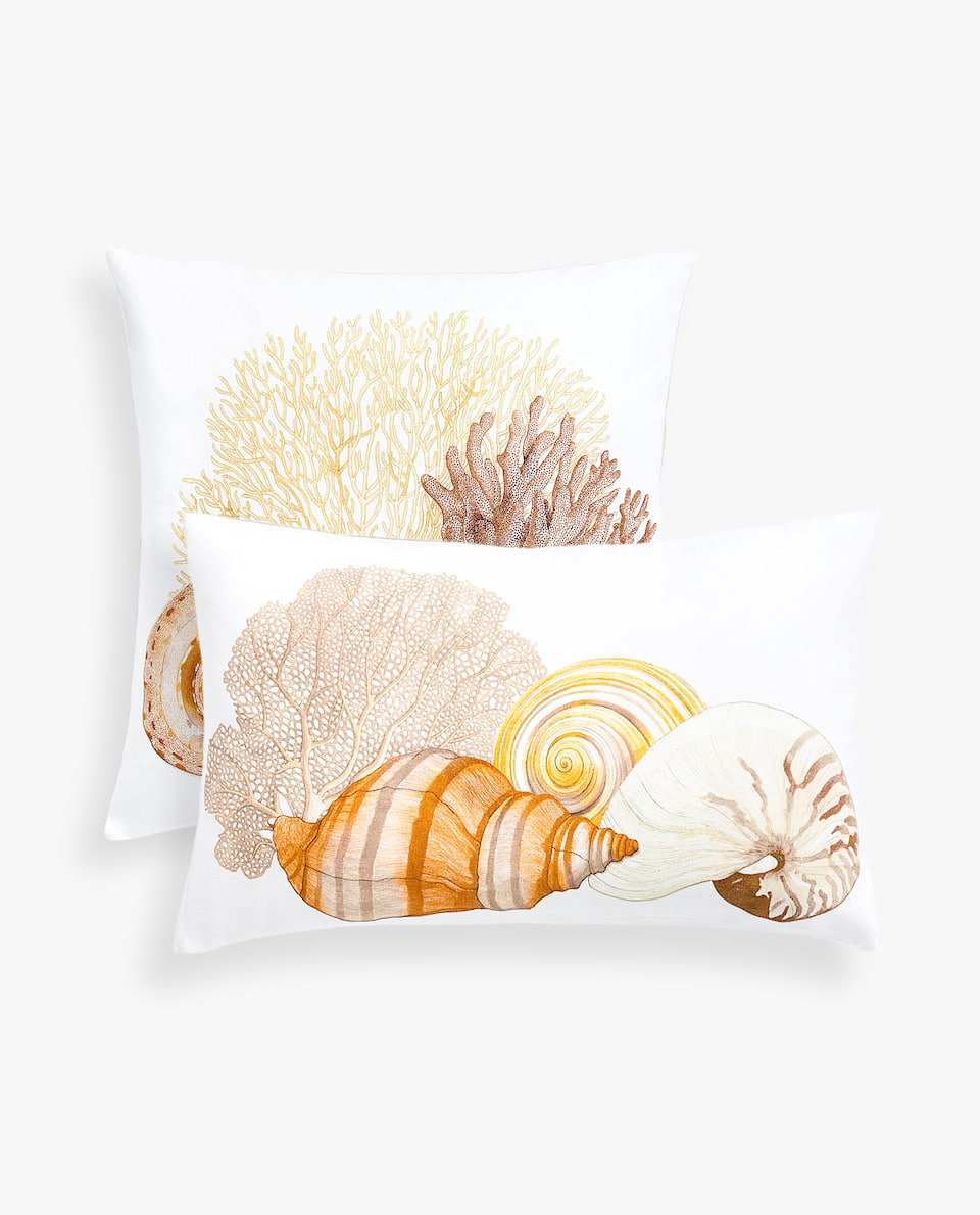 SHELL CUSHION COVER