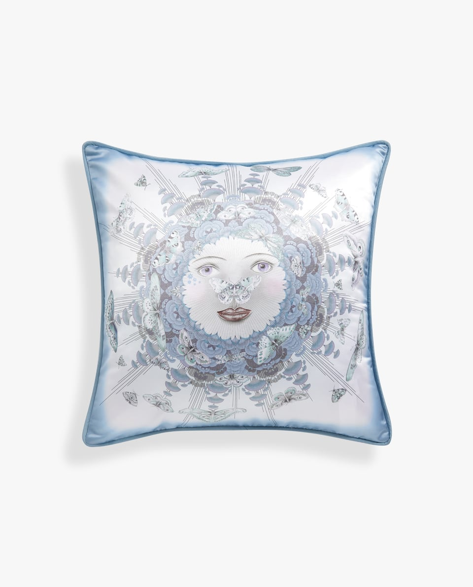 ALLEGORY SATEEN CUSHION COVER
