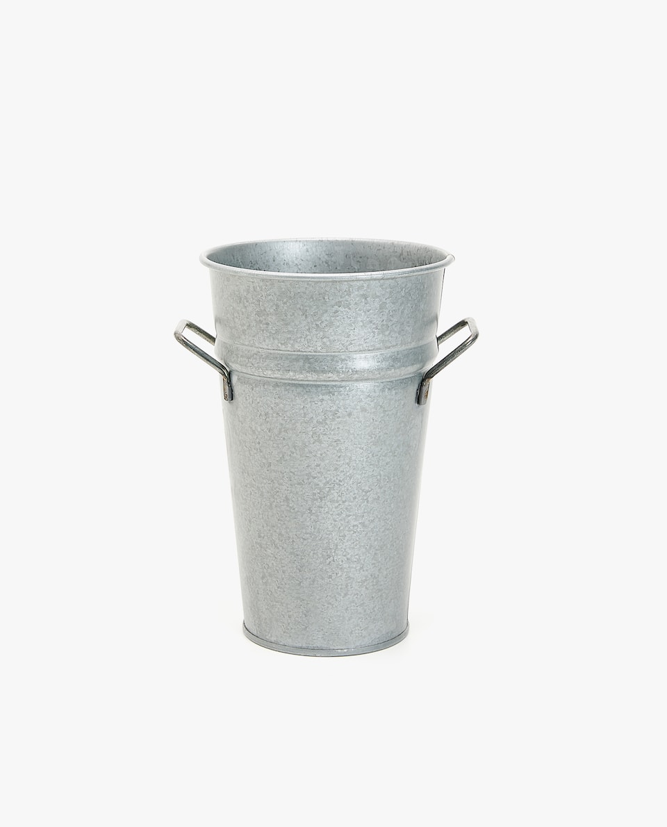 SMALL METALLIC BUCKET