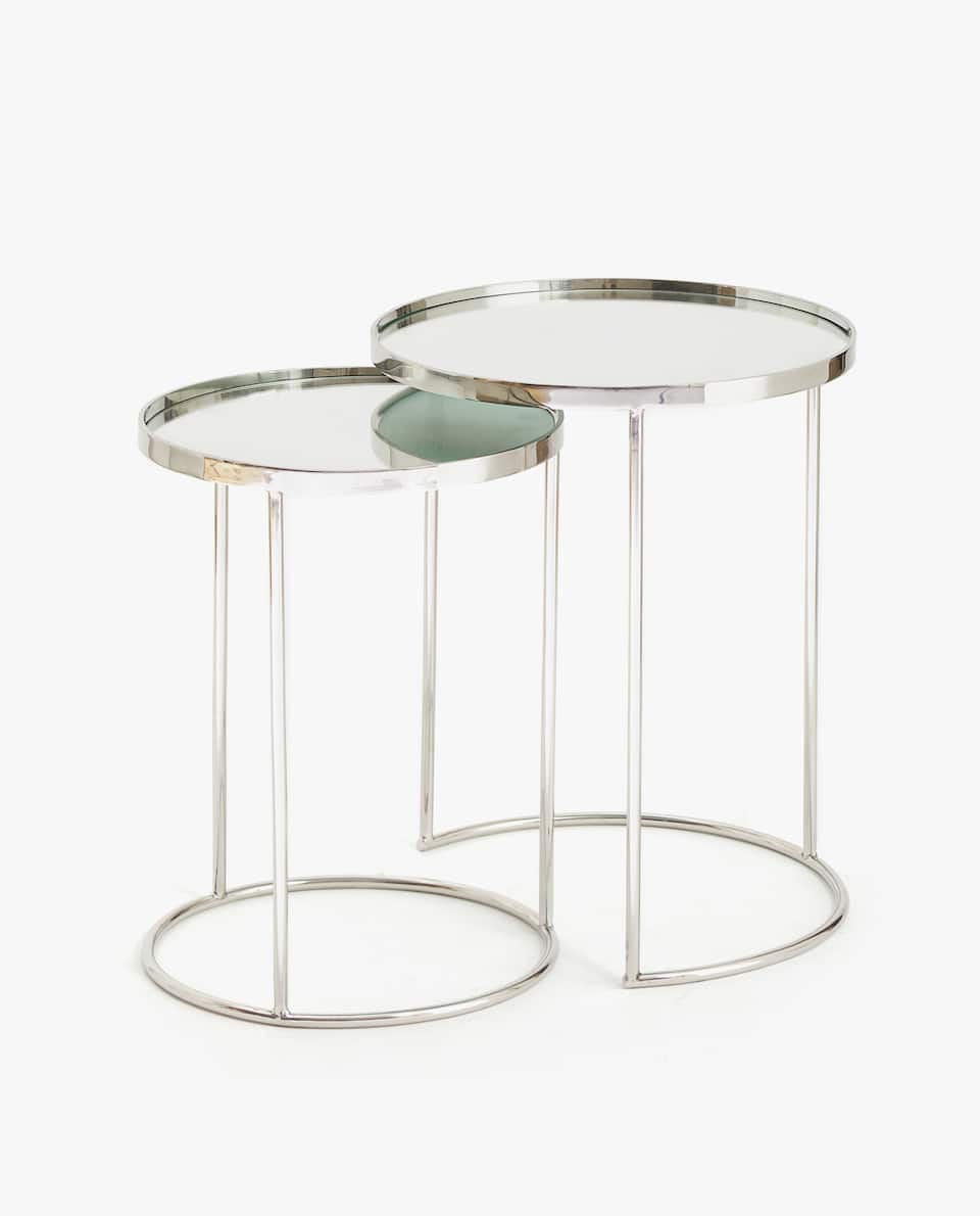 TALL NEST OF TABLES (SET OF 2)