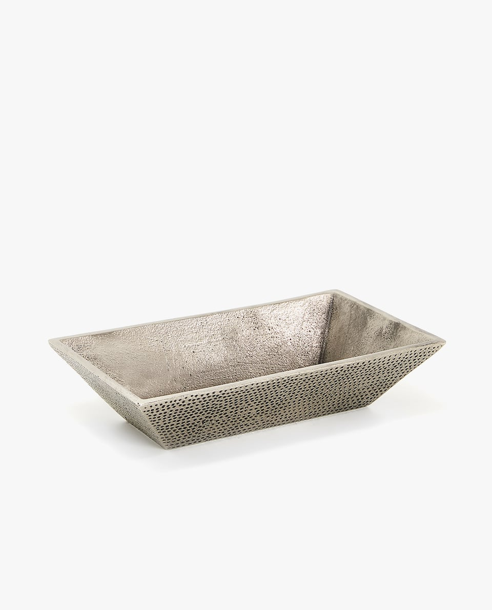 RECTANGULAR ALUMINIUM ASHTRAY