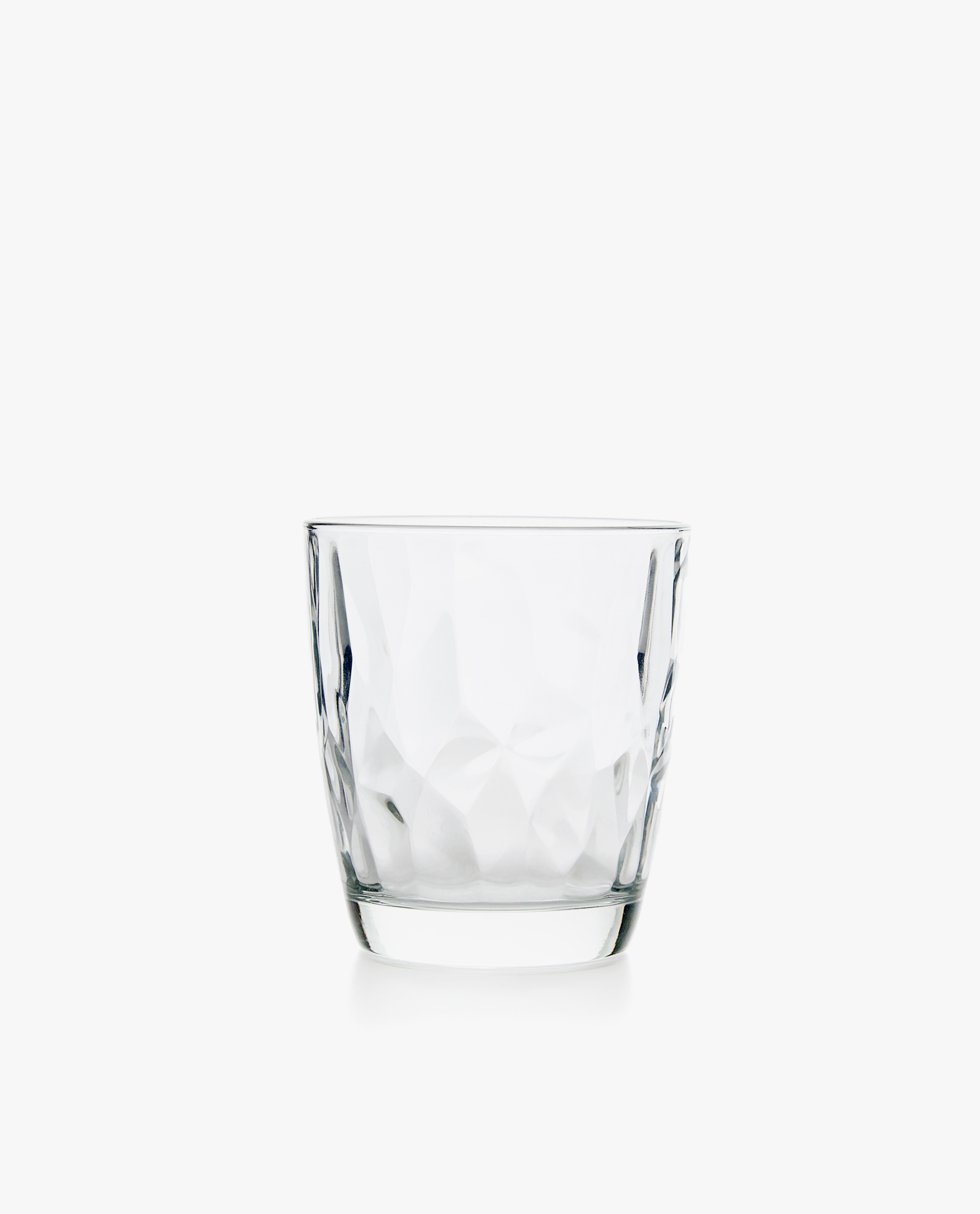 HAMMERED GLASS TUMBLER