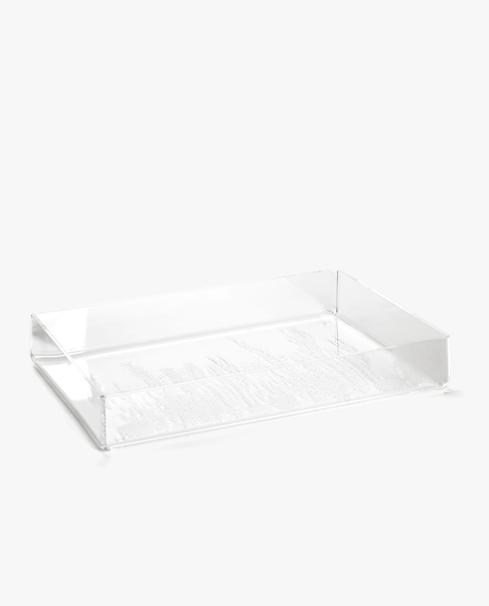 TRANSPARENT PRINT TRAY