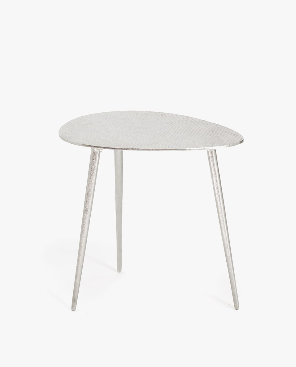 OVAL METAL TABLE