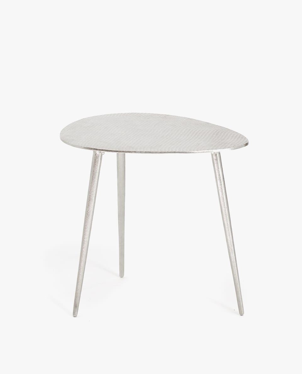 OVAL METAL TABLE