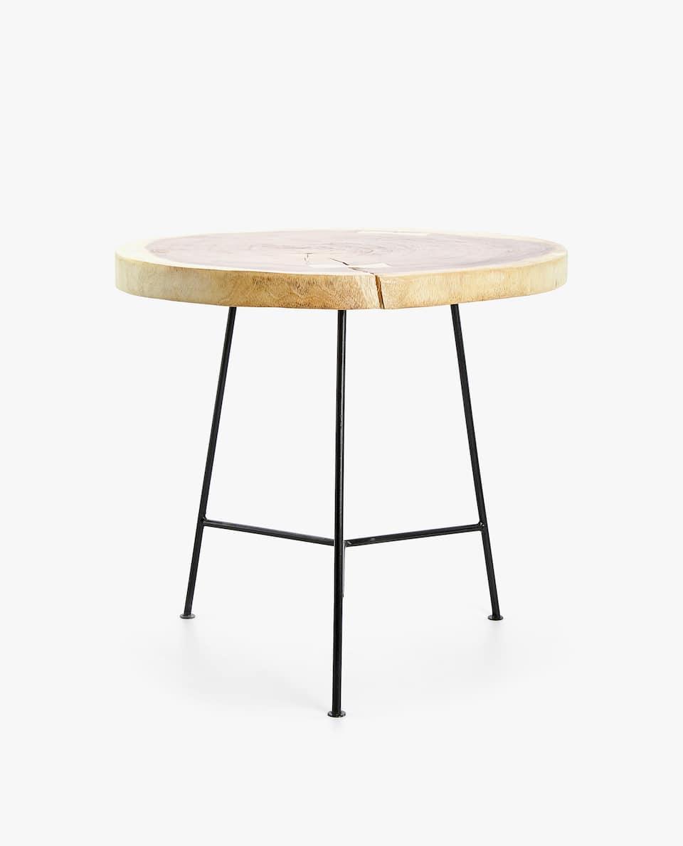 IRREGULAR WOODEN TABLE