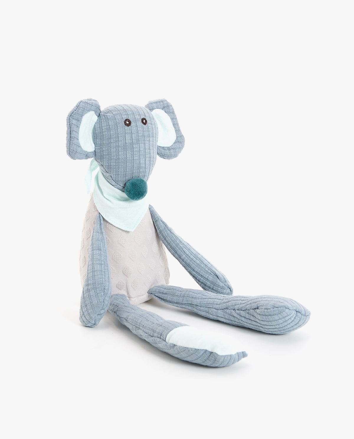 b44c0c7aba MOUSE SOFT TOY WITH NECKERCHIEF - SOFT TOYS - PLAY AND TIDY UP ...