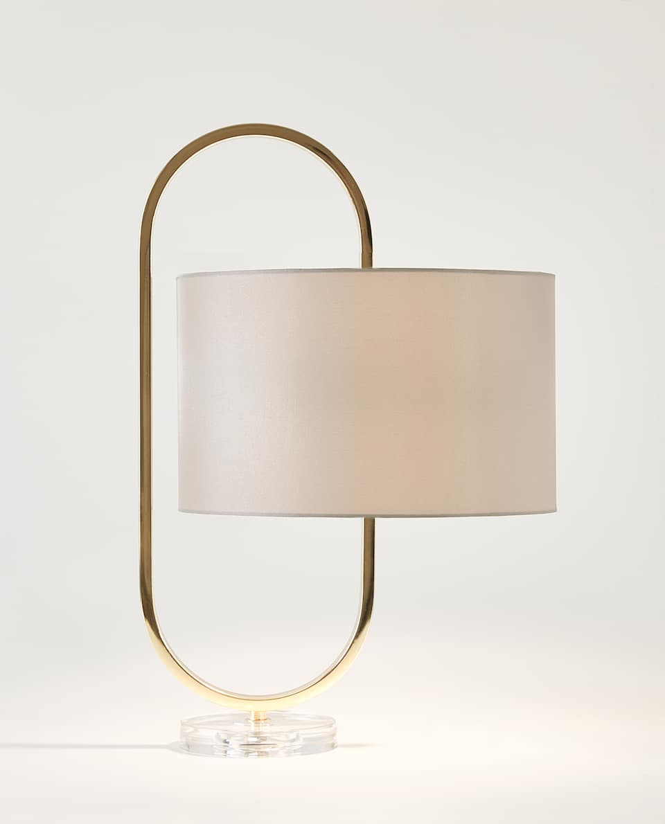 METAL CLIP-ON LAMP