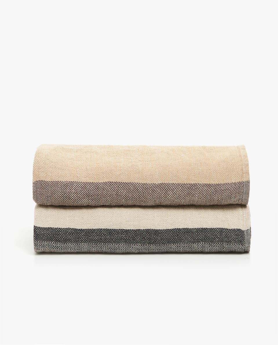 LINEN BLANKET BANDS