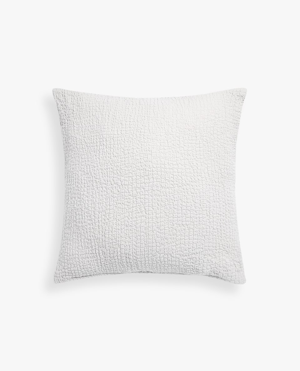 WRINKLE-EFFECT CUSHION COVER