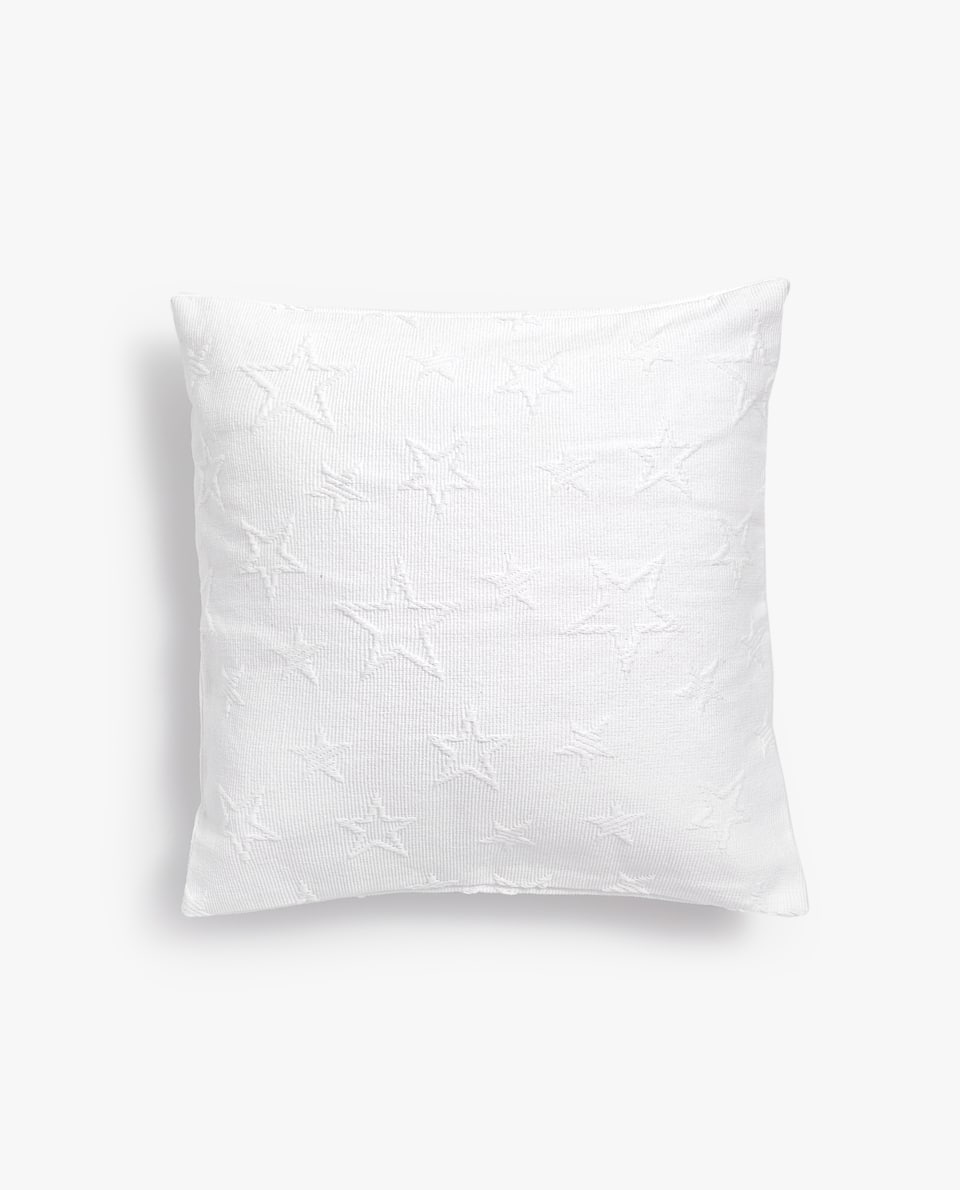 STARS COTTON CUSHION COVER