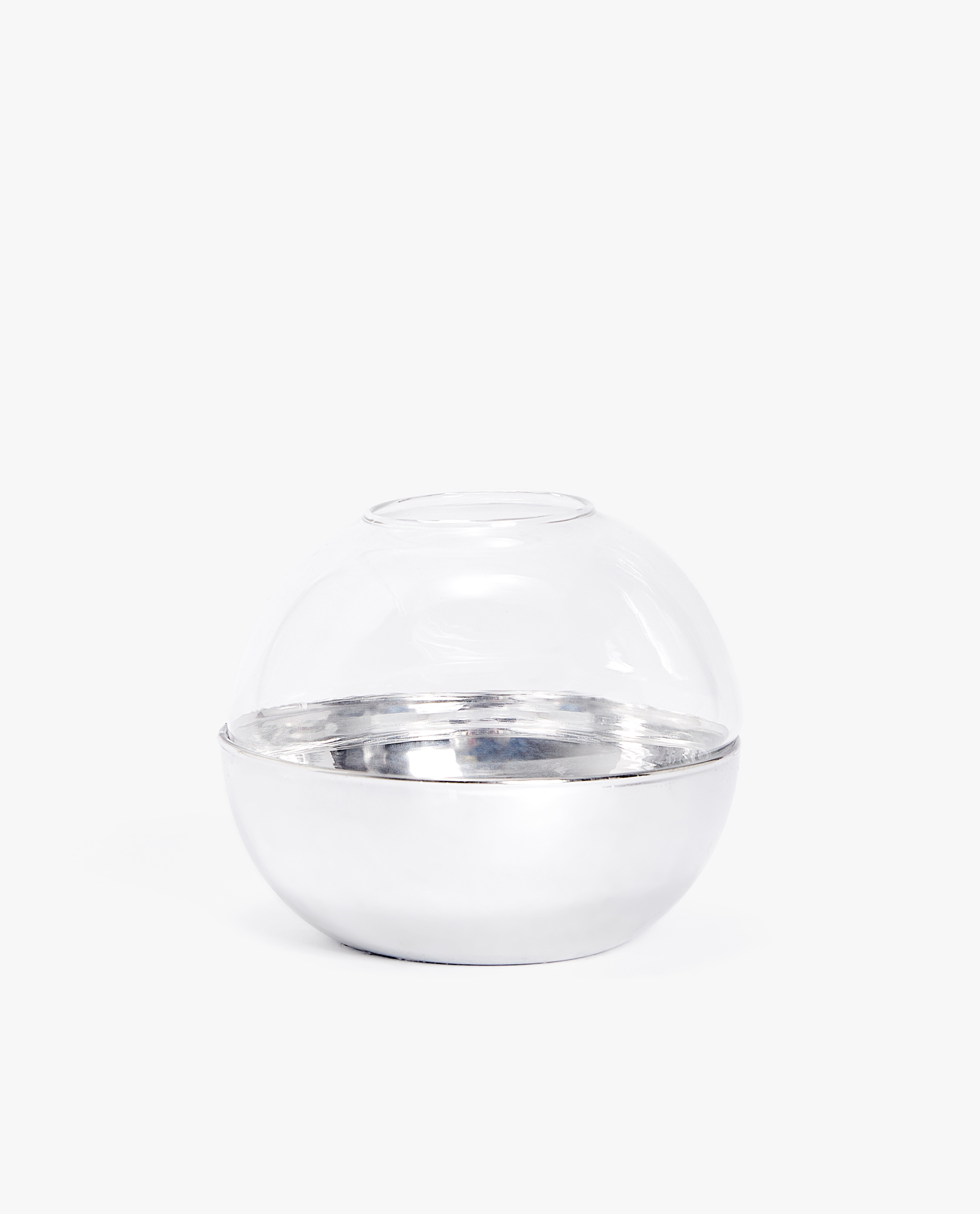 029cfa2ae4 Tealight holder with silver base - TEALIGHT HOLDERS - DECORATION ...