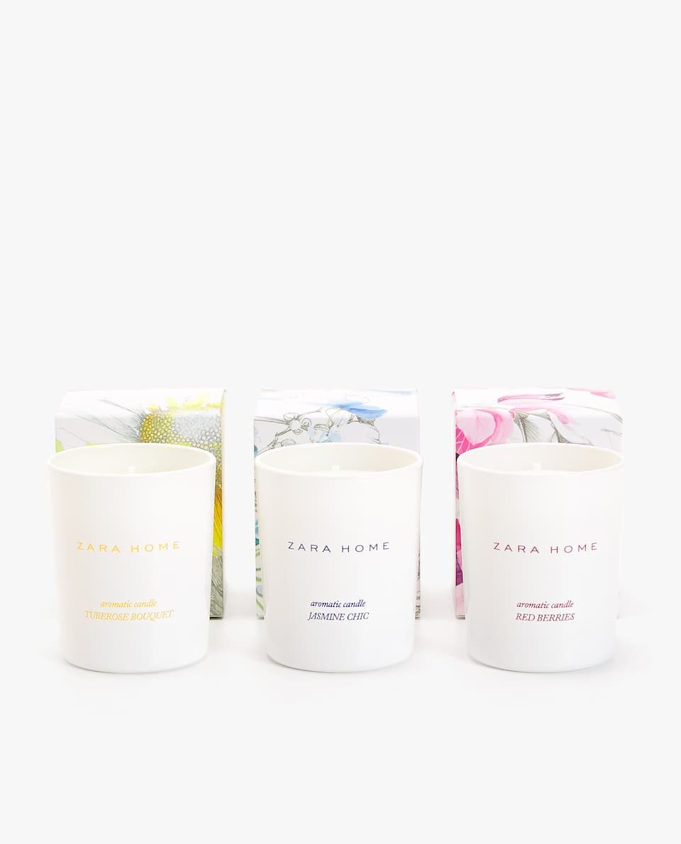 MINI CANDLE COLLECTION (PACK OF THREE)